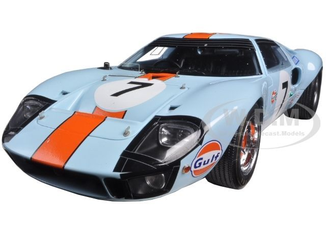 Ford gt 40 gulf #7 3rd le mans 1969 d. hobbs- m. hailwood 1/18 by spark 18s128 | Ford GT Hobbs and Le mans  sc 1 st  Pinterest & Ford gt 40 gulf #7 3rd le mans 1969 d. hobbs- m. hailwood 1/18 by ... markmcfarlin.com