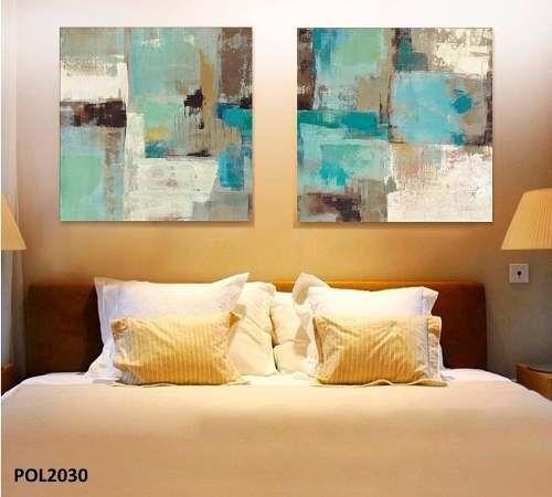 cuadros modernos 80x80 abstractos tripticos texturados