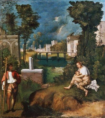 GIORGIONE - La Tempête - 1507