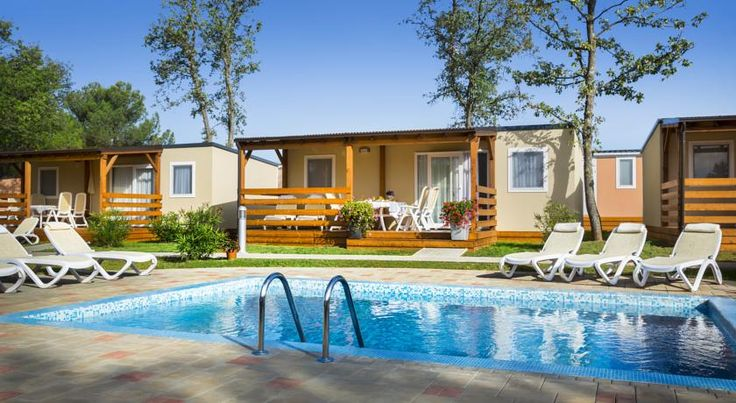 Booking.com: Ferienpark Mobile Homes Valkanela - Funtana, Kroatien