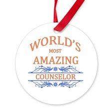 Counselor Round Ornament for