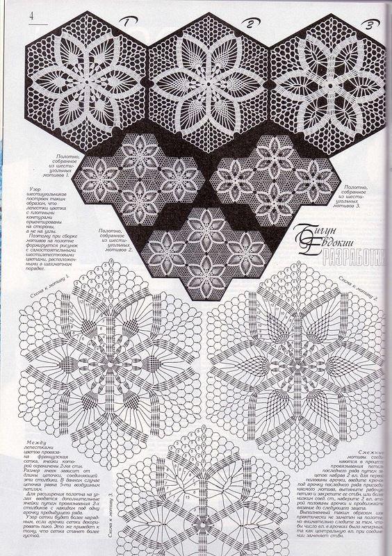 179 best a shawl images on Pinterest | Crochet motif, Crochet ...