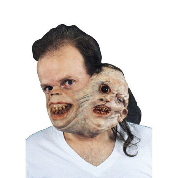 like one is not scary enough it is really well combined and with creepy masksscary halloween - Creepy Masks For Halloween