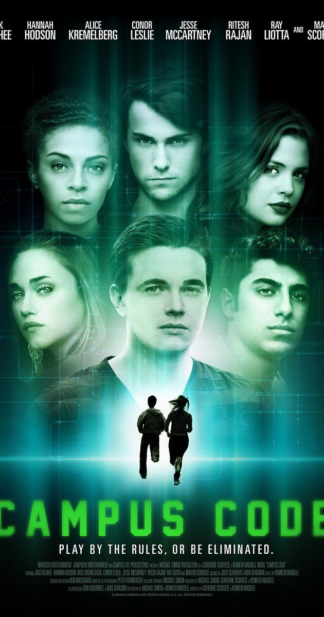 Directed by Cathy Scorsese, Kenneth M. Waddell.  With Jesse McCartney, Hannah Hodson, Alice Kremelberg, Conor Leslie. The college experience - studying, dating, partying... but when one of their classmates disintegrates right before their eyes, Ari, Becca, Izzy, Greta and Arun must battle security, the Griefers and each other to uncover the incredible truth about themselves and this other-worldly campus before they are all eliminated.