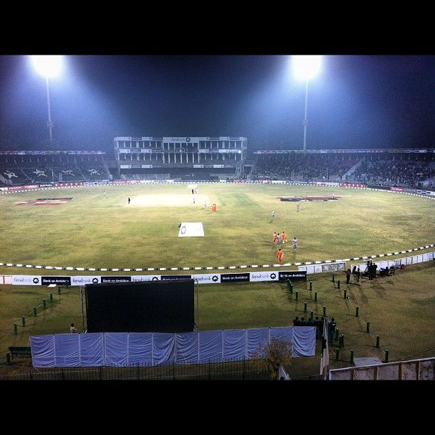 Gaddafi Stadium at Lahore hosted the 1996 World Cup