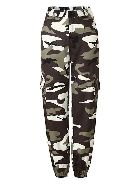 Leger Joggingbroek.Camo Tapered Trouser In 2019 Leger Broek Camouflage Jeans