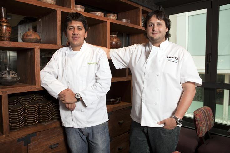 Head Chef Eduardo and Global Chef Jaime Pesaque