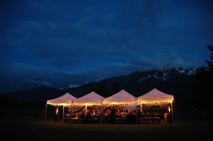 Dinner in the Mountains hosted by Event Rental Works