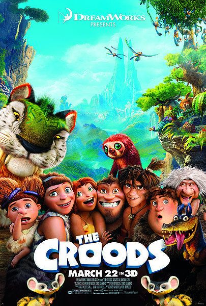 The Croods! This a hilarious movie!! I love it!