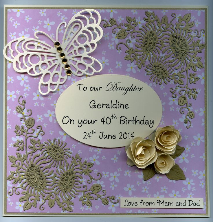 ***Birthday*** Personalised Handmade Cards By Marie Duggan (086)8102888. Please contact me on Facebook or ring me for more information.