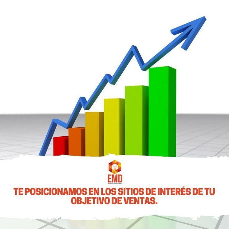 Con nosotros podrás posicionar tu marca como la número uno en internet. #EMD #MarketingDigital #Servicios