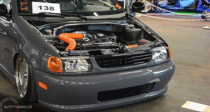 Sascha Bungerts VW Polo 6N ist sicherlich vielen ein Begriff. Die Nimbusgraue Granate hat noch einmal einige Updates erhalten.