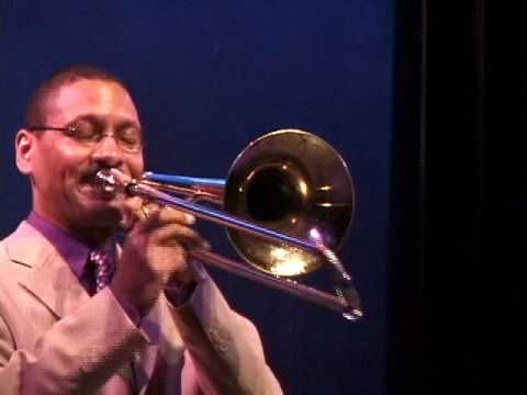 """Delfeayo Marsalis performs """"What a Wonderful World"""" at the closing event of the International Trombone Festival 2005 New Orleans."""