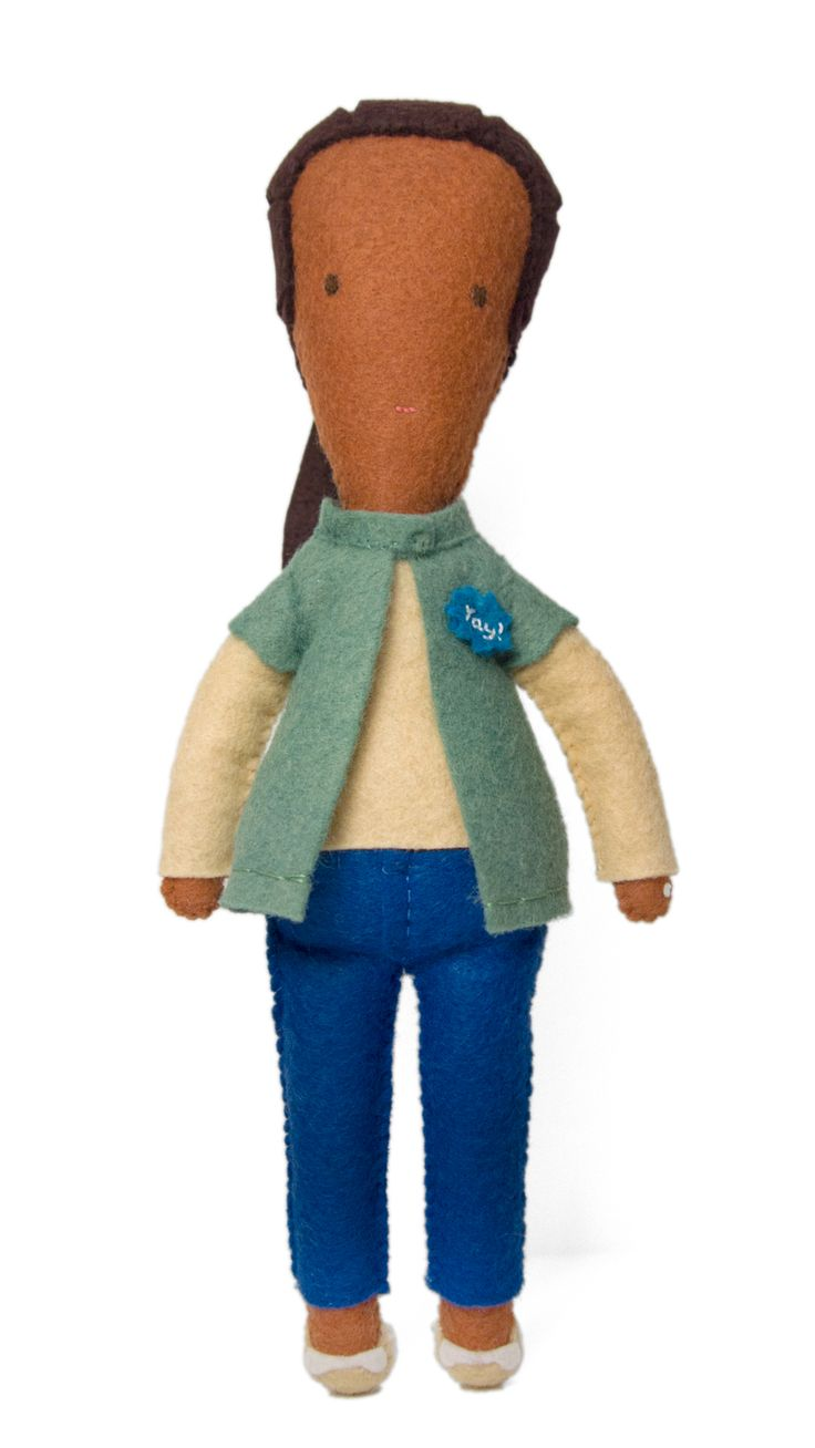 Meet Tiny Soraya. She's one of over 120 MOO crew dolls made for us by *master of felt* Eleni Creative. And she got a real thing for client services. Isn't she *sew* adorable?  MOO   Dolls   Inspiration   Employee Perks   Employee Appreciation   Toys   Felt   Stitching   Careers   Startup Culture   Work   Craft    Creative   Beautiful   Design   Art   Cute   Handmade   Print   MOO Crew   Artist   Small Business