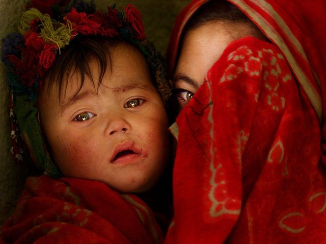 Photo of the Day: Veiled with Tenderness in #Afghanistan   Asia Society
