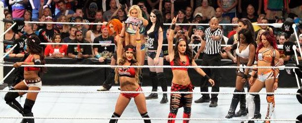 Leading up to Sunday's WWE Battleground Divas match, WWE officials reportedly went back and forth on the outcome of the Triple Threat match between Brie Bella, Sasha banks or Charlotte. At one point they had Brie winning the match but…