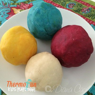 Thermomix PlayDough Recipe - ThermoFun