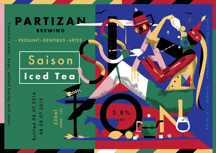 Partizan Brewing - Saison Iced Tea G000-152