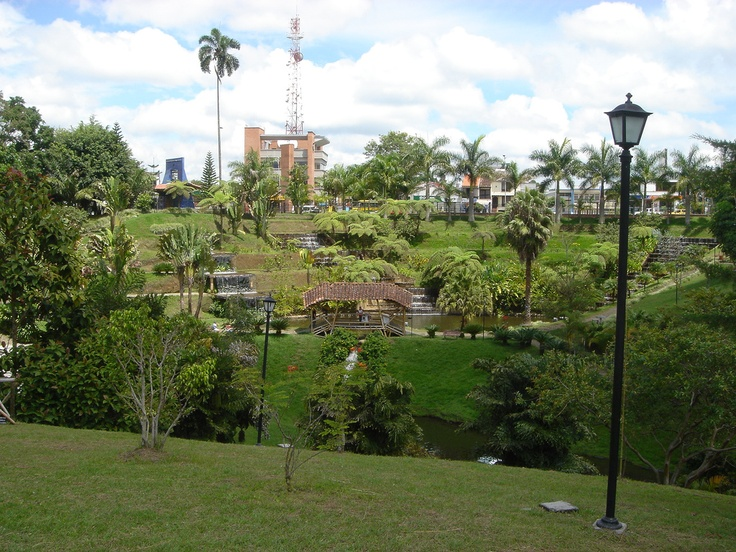 """Parque del Cafe"" nearby Armenia Colombia"