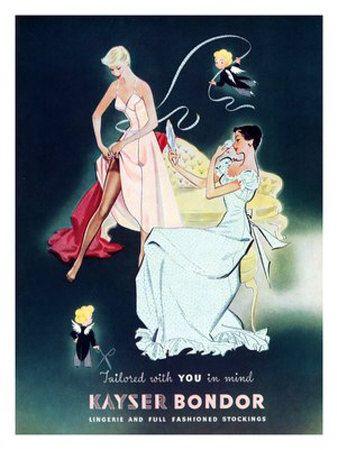 Posters de Kayser Bondor, en libro Antigua Luz de John Balville