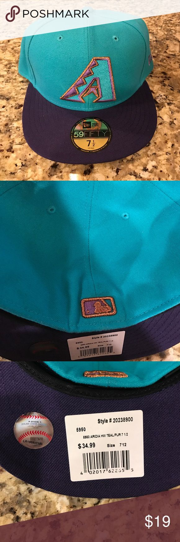 Arizona Diamondbacks Vintage Baseball Cap Arizona Diamondbacks Vintage 2001 Baseball Cap! Brand new/ never worn with caps! Comes from a pet free/ smoke free home! Comment with questions and negotiations!⚾️ Other