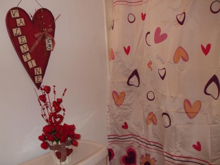 Valentine's Day Bathroom