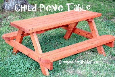 how to build a wooden picnic table video