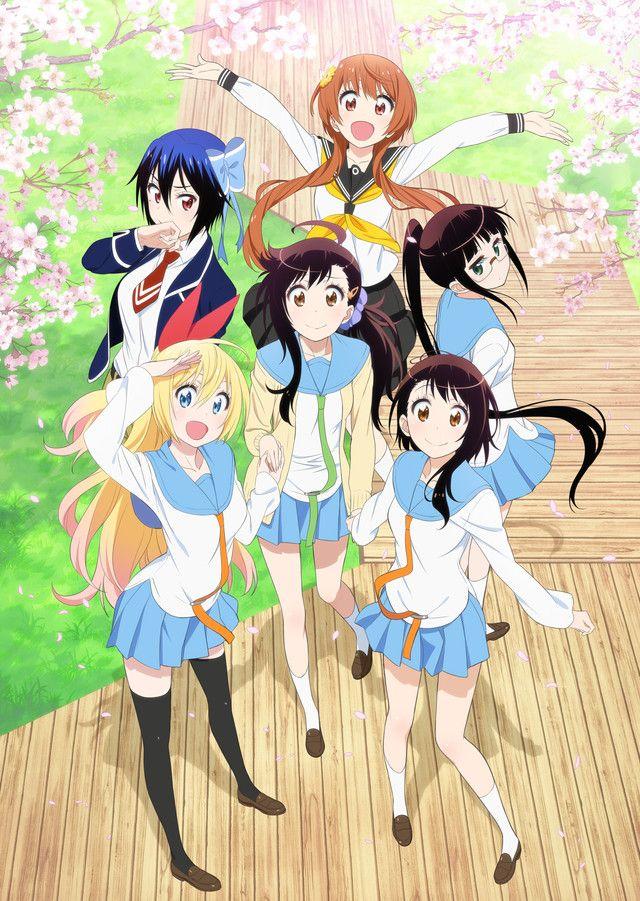 Nisekoi (False Love) girls :3. Seishirou Tsugumi, Chitoge Kirisaki, Kosaki Onodera,   Haru Onodera, Ruri Miyamoto, and Tachibana something... forgot her surname xD