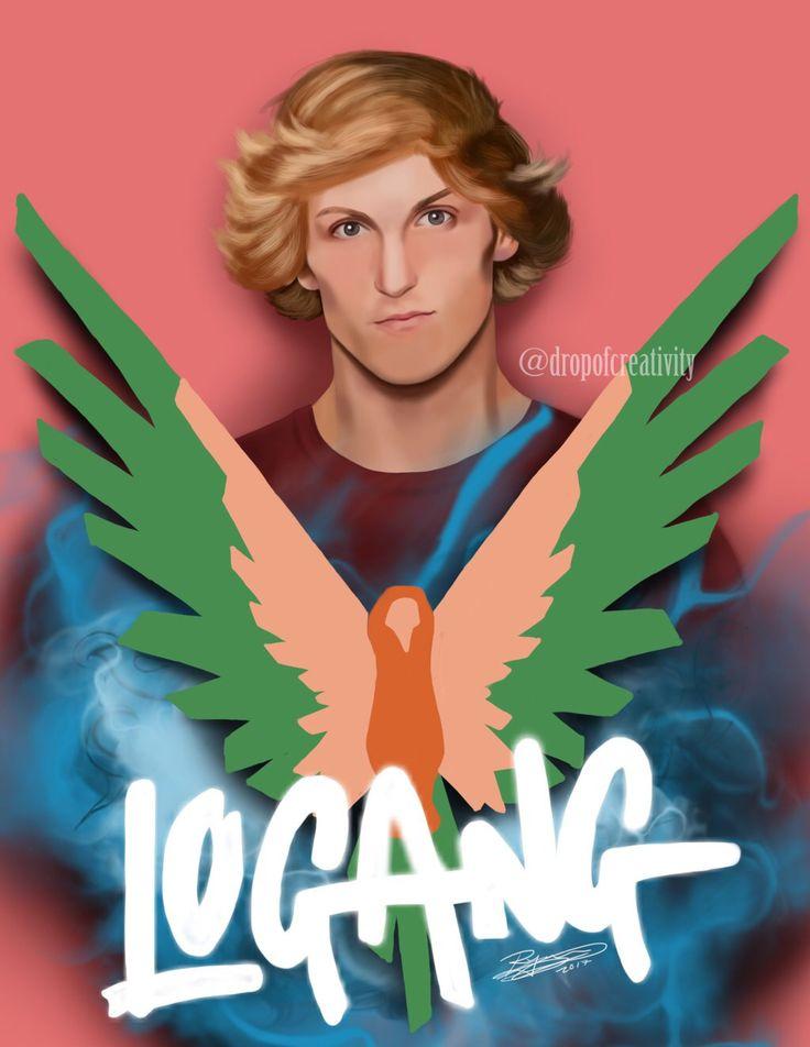 Logan Paul by dropofcreativity on @DeviantArt