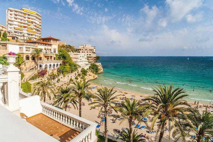 Reserva un hotel en #Palma de #MALLORCA y ten una vista increíble!! #trip #travel #hotel #turismo #despegar #viajes