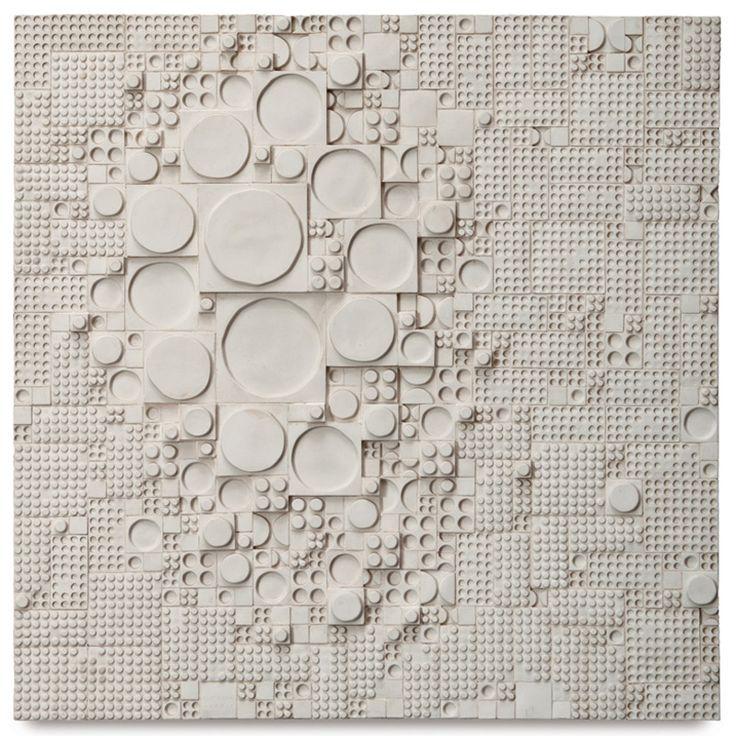 "Rut Bryk Wall relief Designed c. 1968 Glazed ceramic Arabia Impressed ""Rut Bryk Arabia"" lower center; bears inscriptions ""Rut Bryk 'Rypale'/..."