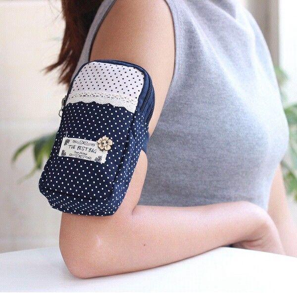 Sports Armband Multifunctional Pockets Workout Running ArmBag Phone Bag Smartphone Bag