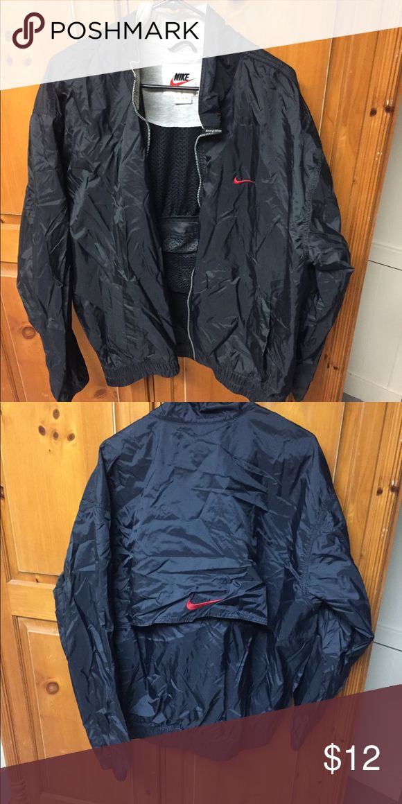 Vintage Nike Jacket Straight from an antique treasure chest lol vintage Nike jacket from the early 90s. Still great condition. Size states XL but fits closer to L even for women. Nike Jackets & Coats