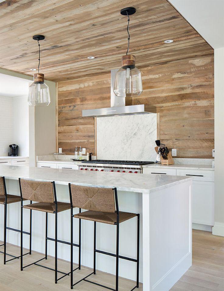 RV Wood Planked Kitchen Backsplash Part 52