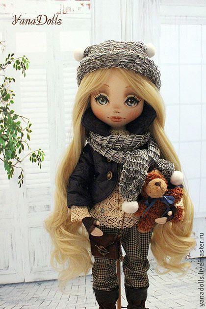 Коллекционные куклы ручной работы. Ярмарка Мастеров - ручная работа Vikki. Handmade.