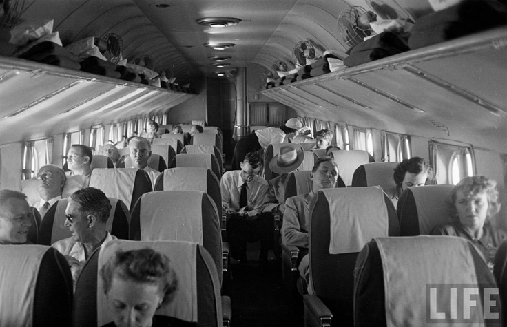Eastern Airlines 1949 Douglas DC-4 interior. | Aviation ...