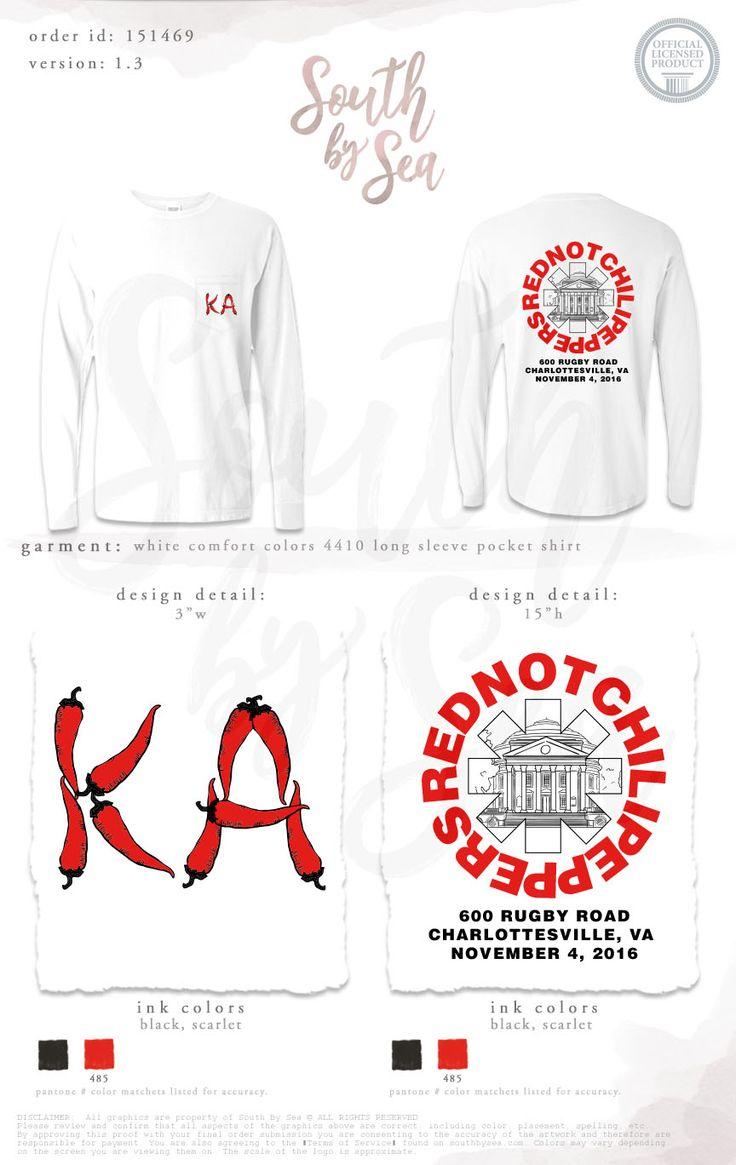 T shirt design jackson ms - Kappa Alpha Ka Red Not Chili Peppers Philanthropy T Shirt South