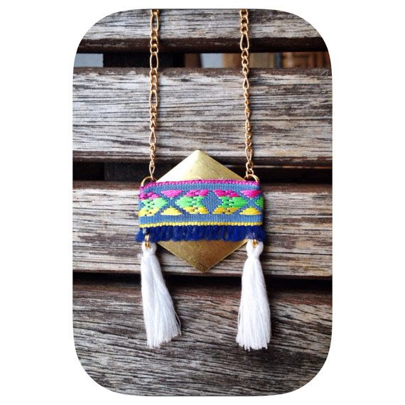 Hey, I found this really awesome Etsy listing at https://www.etsy.com/listing/234381609/new-long-women-necklace-aztec-ribbon