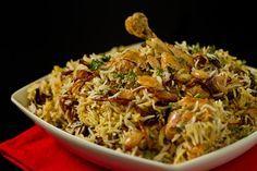 Hyderabadi Chicken biryani or Chicken Dum Biryani recipe that is fail proof.