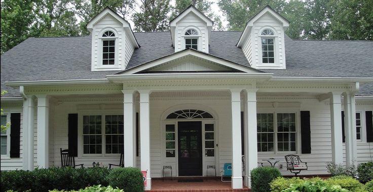 26 best dream house exteriors floor plans images on for Laurel river house plan