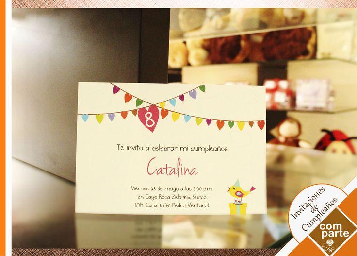Invitaciones de Cumpleaños Personalizadas