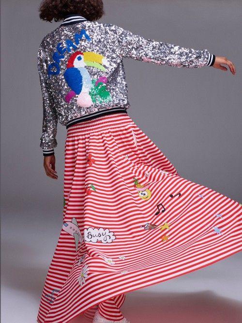 MIRA MIKATI / JUPE CIRCLE IMPRIME  #miramikati #jupe #skirt #boheme #chic #fashion #mode #paris #marseille #sainttropez #chic #bymariestore