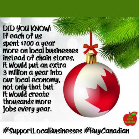 SHOP LOCAL!! BUY CANADIAN!!  ✳✳✳✳ www.BigAppleBargains.ca ✳✳✳✳