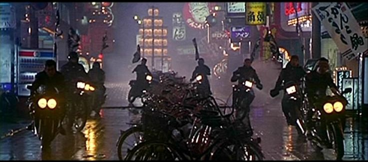 This Island Rod: Black Rain (1989)  Hey good blog.  More Riddley with Black Rain.  The '80s totally looked like this.