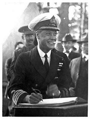 The Prince Edward, Prince of Wales (later The Duke of Windsor).