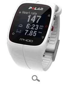 Polar M400 GPS Powered Fitness Watch (White)