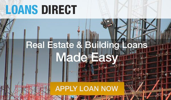 #RealEstate and #BuildingLoans are easy with us!!!