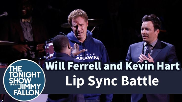 """Lip Sync Battle with Will Ferrell, Kevin Hart and Jimmy Fallon-Jimmy asks guests Will Ferrell and Kevin Hart to battle in an intense lip sync-off to songs like Beyoncé's """"Drunk in Love"""" and John Legend's """"All of Me."""""""