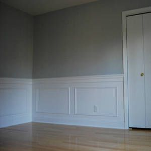 M s de 25 ideas incre bles sobre molduras de madera en for Decorar puertas con molduras
