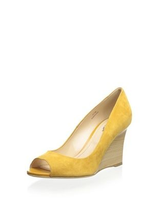 53% OFF Tod's Women's Peep-Toe Wedge (Arancio)